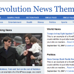 Revolution News Theme