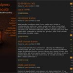 WordPress Dark Themes